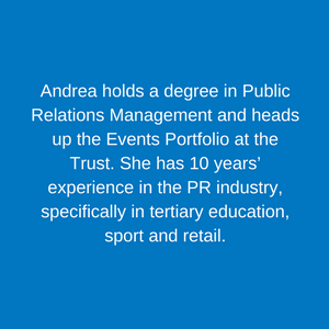 Andrea Susman _ Events Manager Staff Children's Hospital Trust