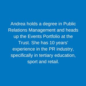 Andrea Susman _ Events Manager Staff Children's Hospital Trust