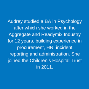 Audrey Jason _ Project Manager Staff Children's Hospital Trust