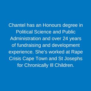 Chantel Cooper _ Head of Fundraising Staff Children's Hospital Trust