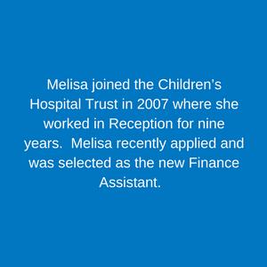 Melisa Engelbrecht _ Finance Assistant