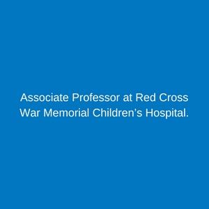 Professor Mignon McCulloch_Childrens_Hospital_Trust