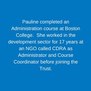 Pauline Solomons _ Fundraising & Legacy Coordinator Staff Children's Hospital Trust