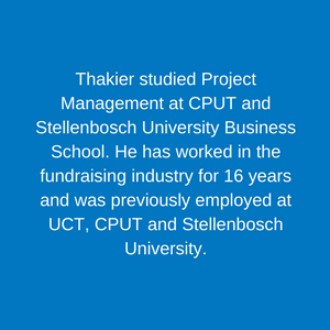 Thakier Abrahams_ Info _ Knowledge Manager Staff Children's Hospital Trust