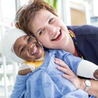 Dr Esther Roux Martinez, Head of Paediatric Burns Unit