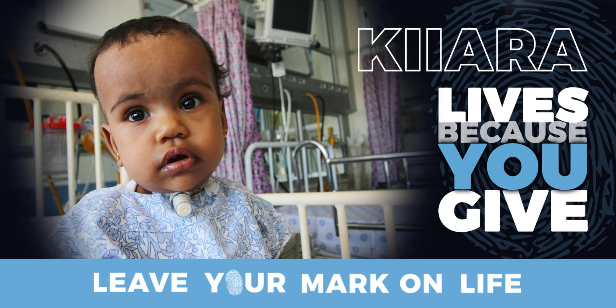Kiiara #Leave_YourMark Childrens Hospital Trust-min