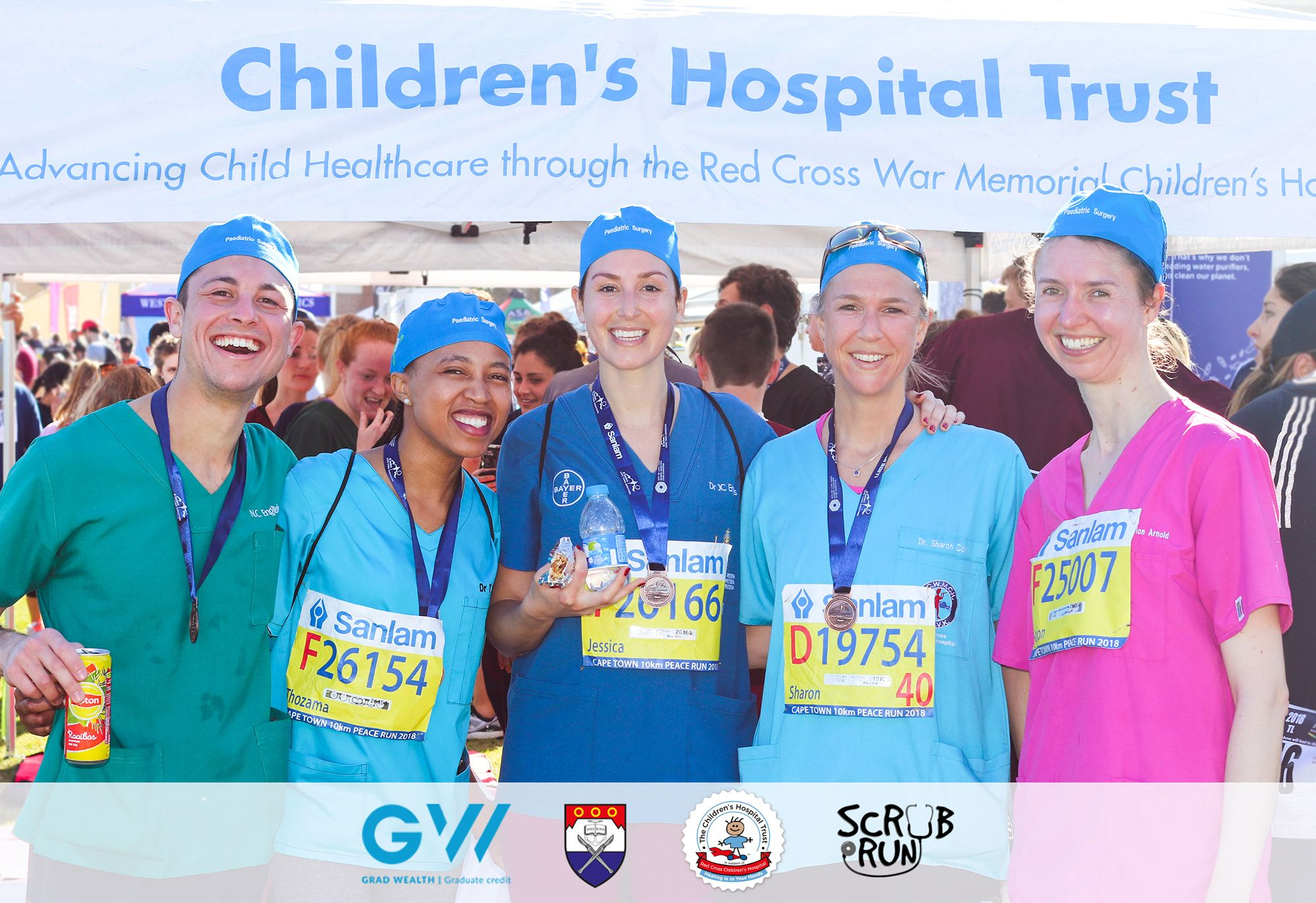 UCT Scrub Run Childrens Hospital Trust Donate today and ensure a better future